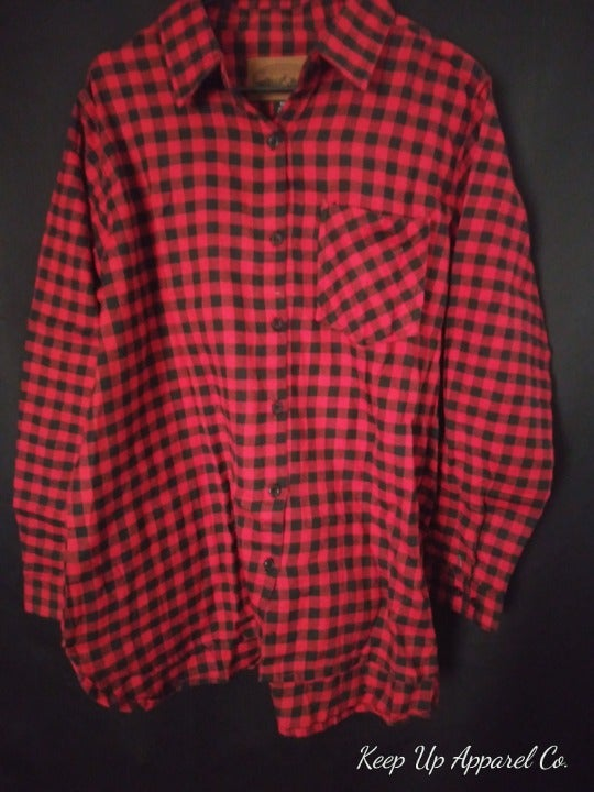 Flannel Button Down Shirt AC-2031