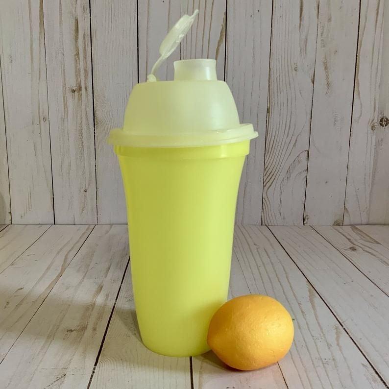 Vintage Tupperware Yellow Shaker Blender