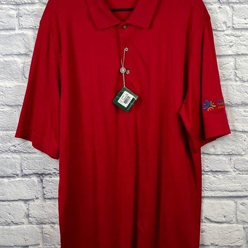 NWT! Mens Bobby Jones golf polo shirt