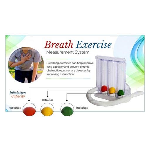HealthAndYoga Deep Breathing Exerciser