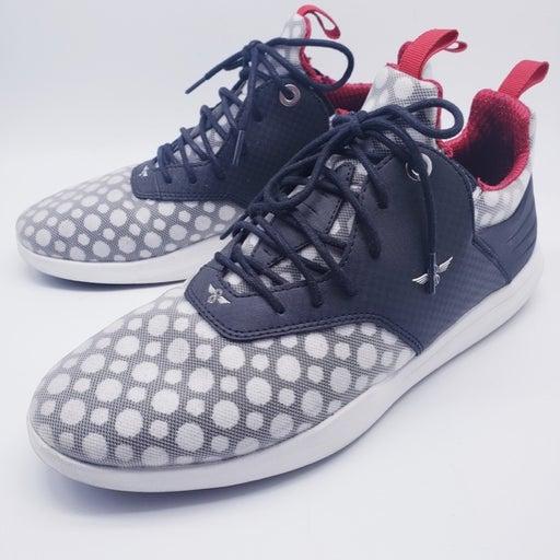 CREATIVE Men's 9.5 Sneakers Black/Red/Wh