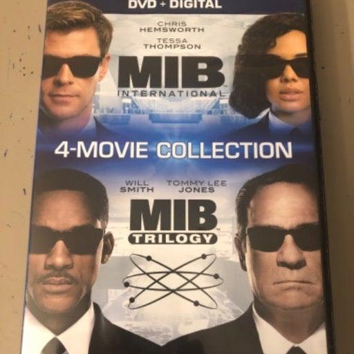 MIB, 4 - Movie Collection, MIB Trilogy, MIB International, Like New DVD.