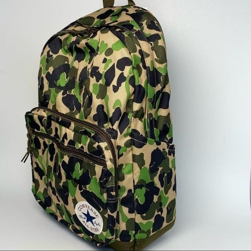 NEW Converse Go 2 Backpack Bag with Camouflage print