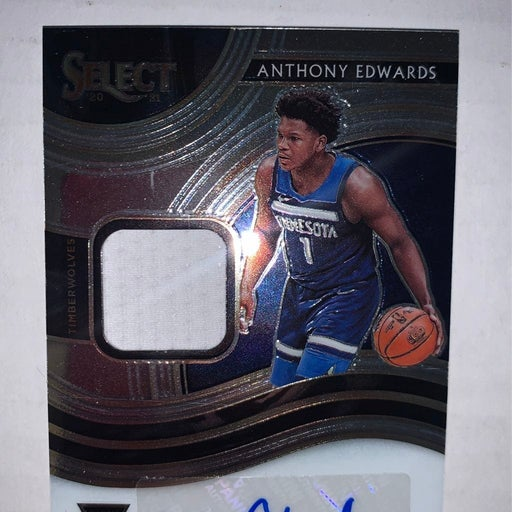 2021 Select Anthony Edwards RPA #/199 Rookie Auto