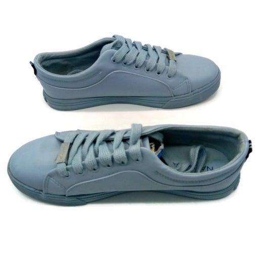 Nautica Powder Blue Women's Calera 6 Casual Lace Up Sneakers Sz 7.5