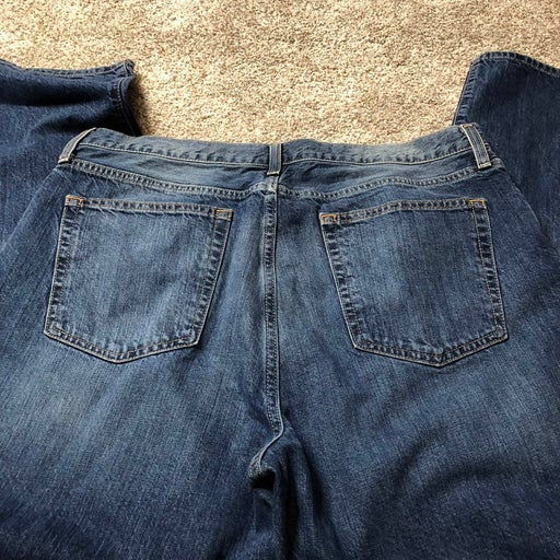 Mens Cremieux relaxed boot jeans 35/30