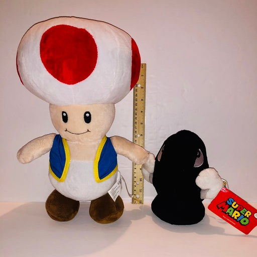 Mario Brothers Toad and Bullet Bills