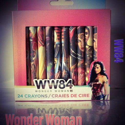 Wonder Woman 24 Crayons Superhero DC Comics