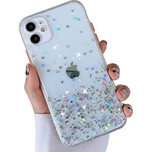 New iPhone 12 Clear Confetti Glitter Cas