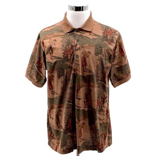 BOBBY JONES Men's Polo Golf Shirt Sz M