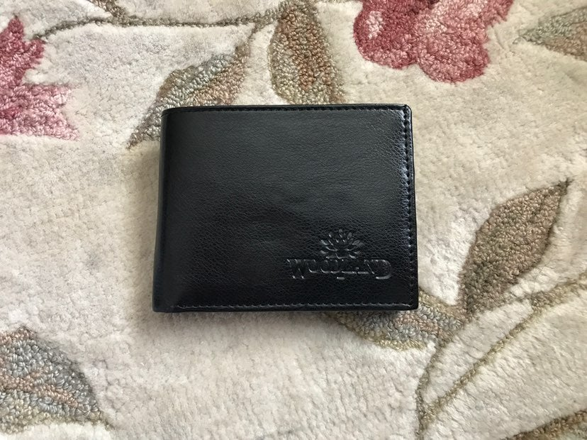 WoodLand Black Leather Wallet