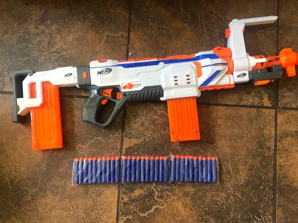 Nerf Modulus Regulator $65with 30 Ammo