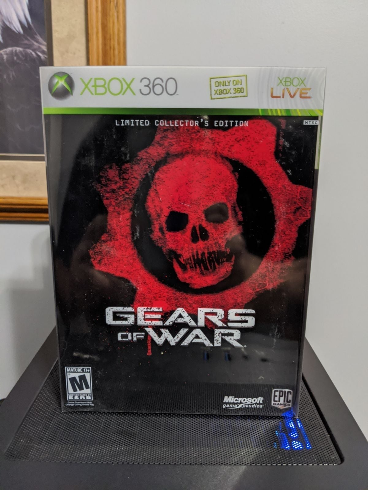 Gears of War Xbox 360 Collector Edition