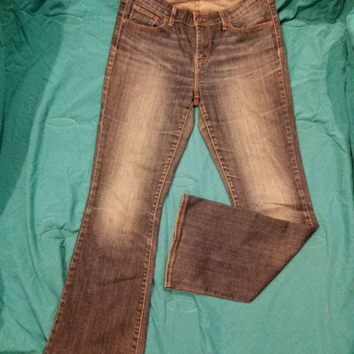 Levi Curvy Boot Cut Jeans
