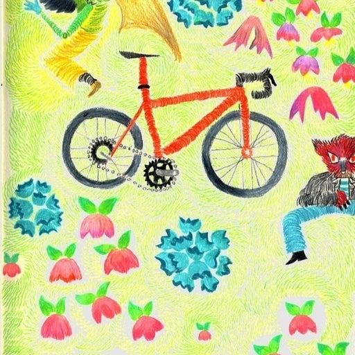 "Art print ""bike fables"""