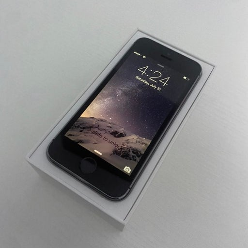 iOS 8.0.2 - iPhone 5S Space Gray - Extremely Rare!