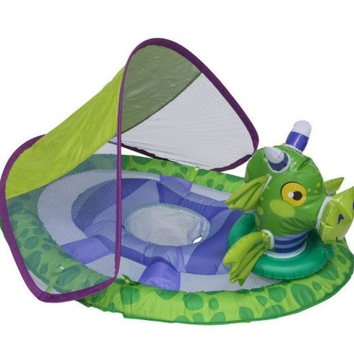 Baby pool float canopy summer