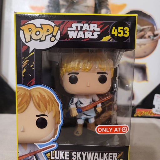 Funko Pop Luke Skywalker Retro #453 TE