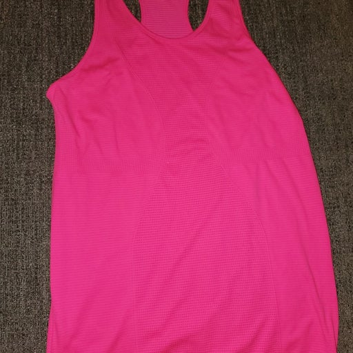 ZYIA Hot Pink Cooper Charged Tank! Only