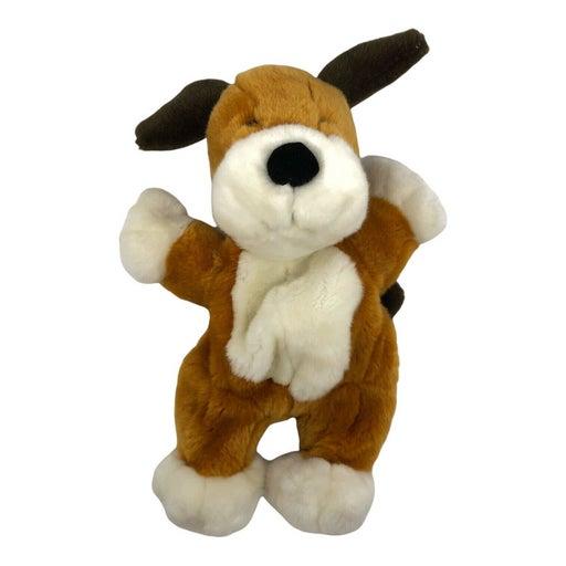 "KIPPER THE DOG Hand Puppet 1998 PRESTIGE 14"" Stuffed Animal PLUSH Vintage RARE"