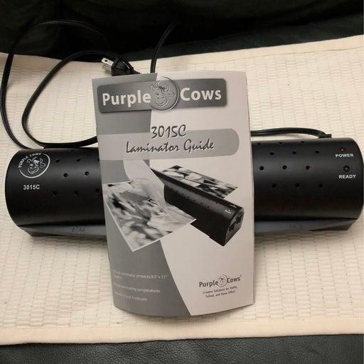 Purple Cows 3015C Laminator