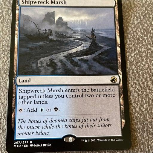 MTG Shipwreck Marsh from Innistrad: Midnight hunt