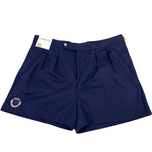 Izod Mens Size 40 Pleated Chino Shorts