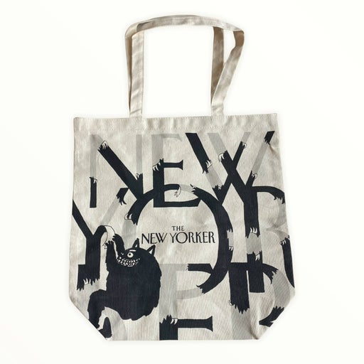 The New Yorker Monster Canvas Tote Bag