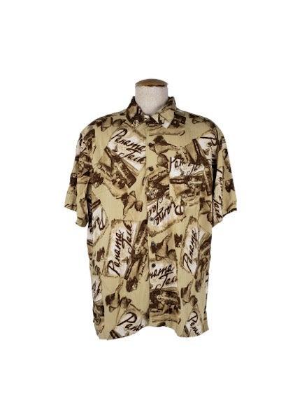 Panama Jack Men's Button Up Size 2XL