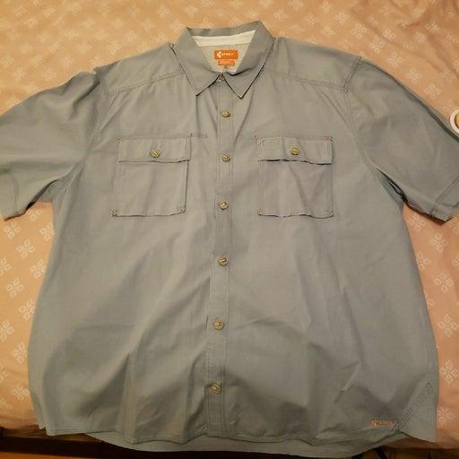 3 Crocs button down shirts size XL