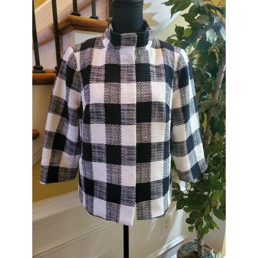 Talbots Wool Full Zip Jacket Size 12P