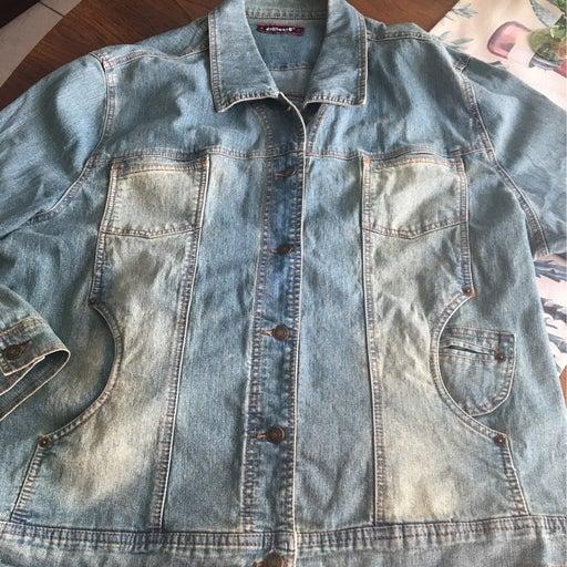 Denim Chore Jacket Dollhouse Lare/XL Sal