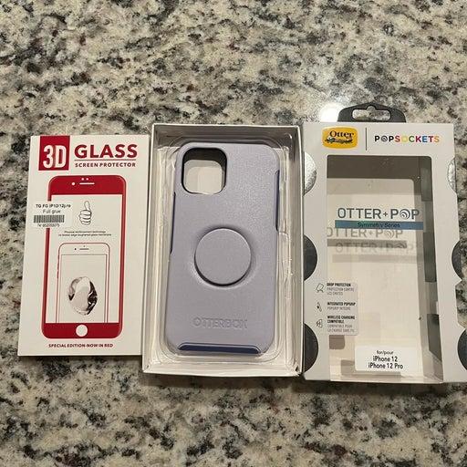 Iphone 12/12 Pro Otterbox Purple Case