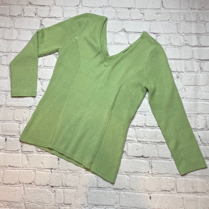 Takeout - Green Sweater