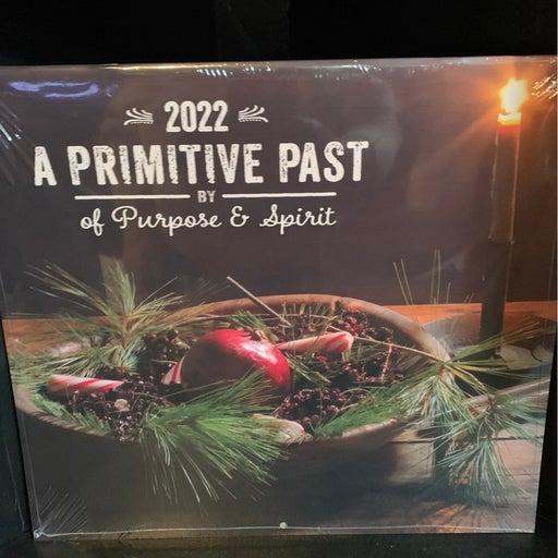 A Primitive Past 2022 Wall Calendar 13x12