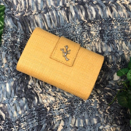 Crabtree & Evelyn Paper Straw Clutch