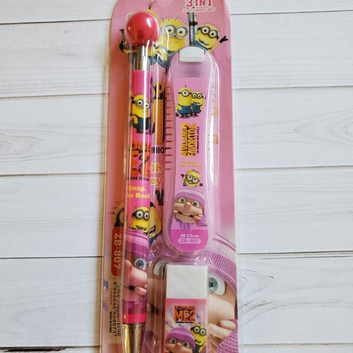 Minions Mechanical Pencil Set