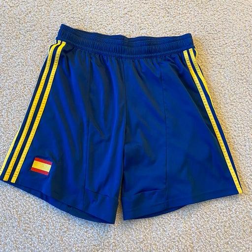 Spain soccer shorts