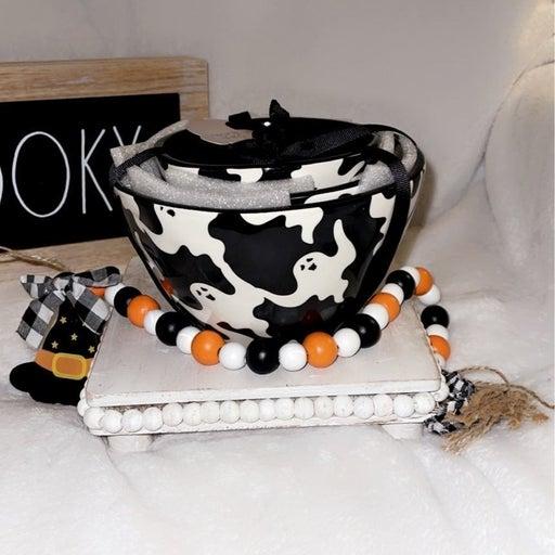 Halloween ghost bowls