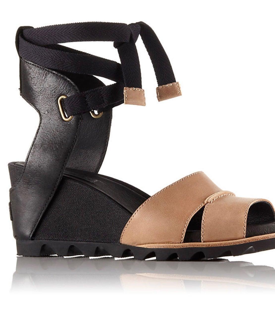 SOREL Joanie Wrap Wedge Sandal