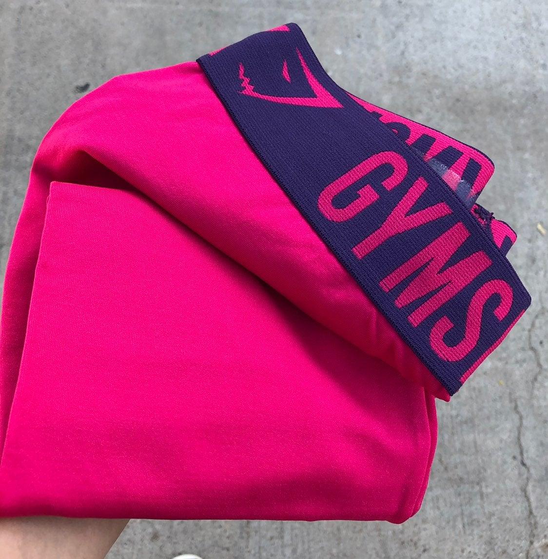 Gymshark fit leggings Berry Red/Pink