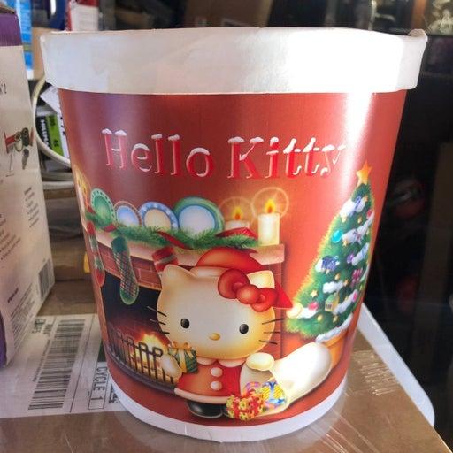 Sanrio Hello Kitty Christmas Container