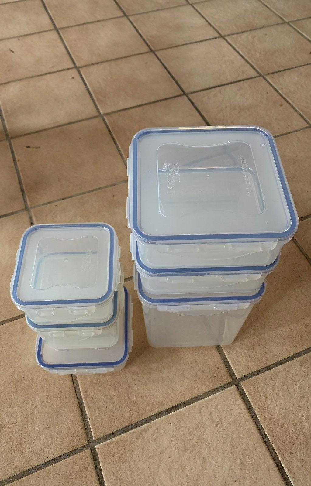 Lock & Lock Square Container Set