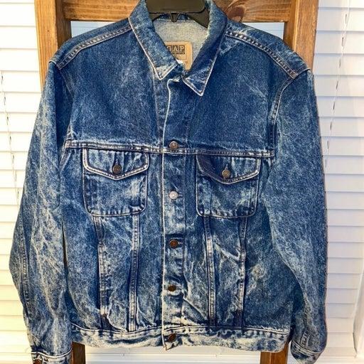 Vintage GAP Acid Wash Jean Jacket