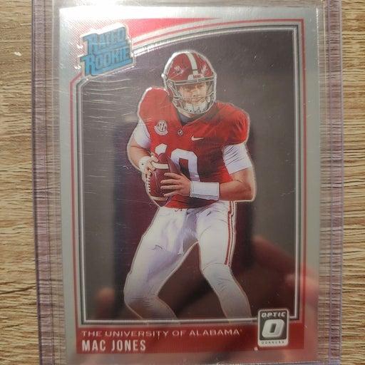 Mac Jones optic dp rated rookie HOT