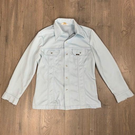 Vintage Lee Denim Jeans Work Chore Shirt