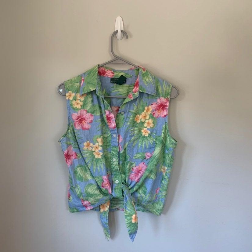 Women's Ralph Lauren Button-Down Shirt