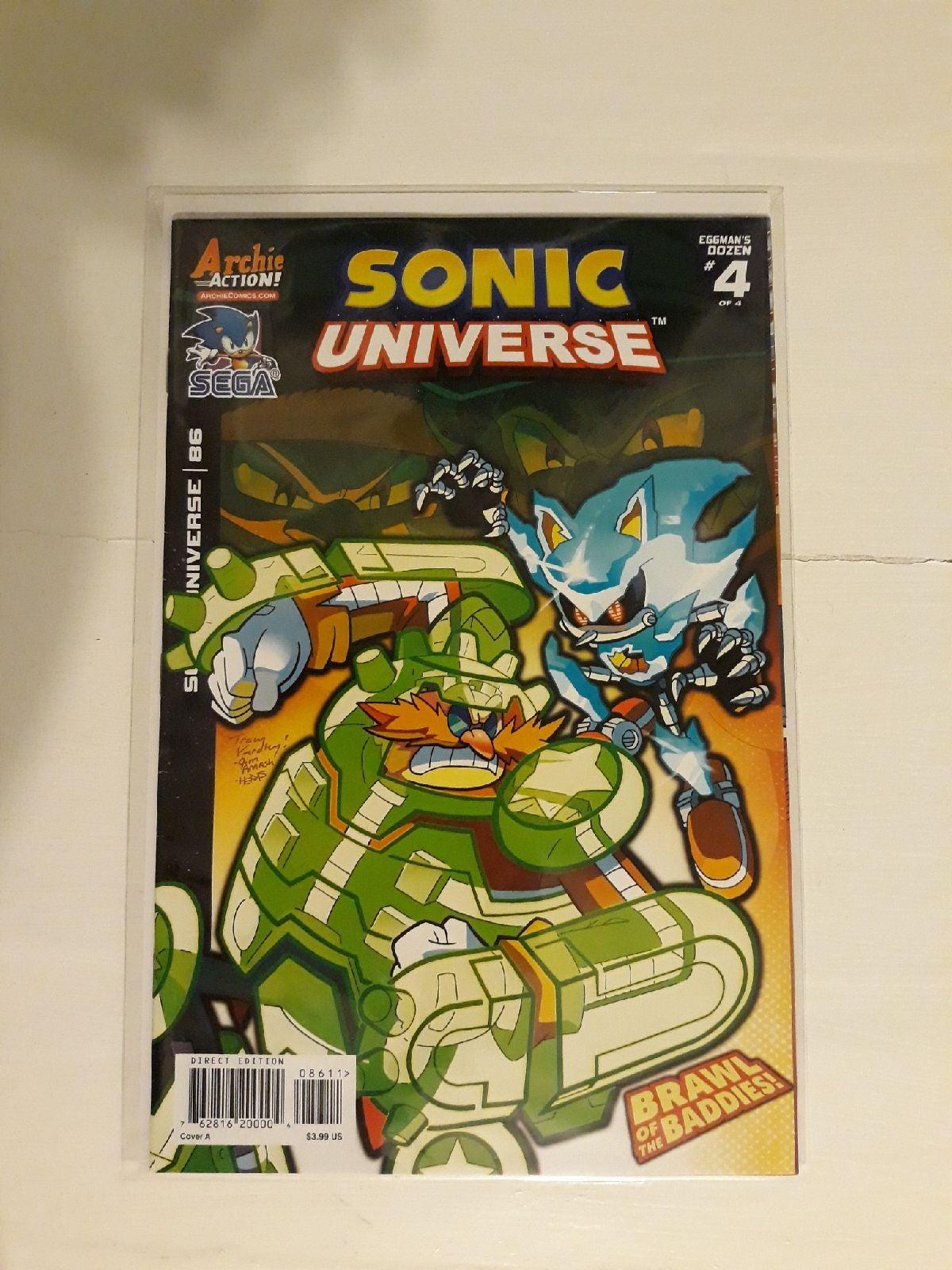 Sonic universe comic
