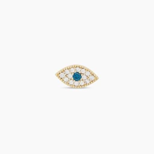 Gorjana Evil Eye Charm Stud 202-025-308-G