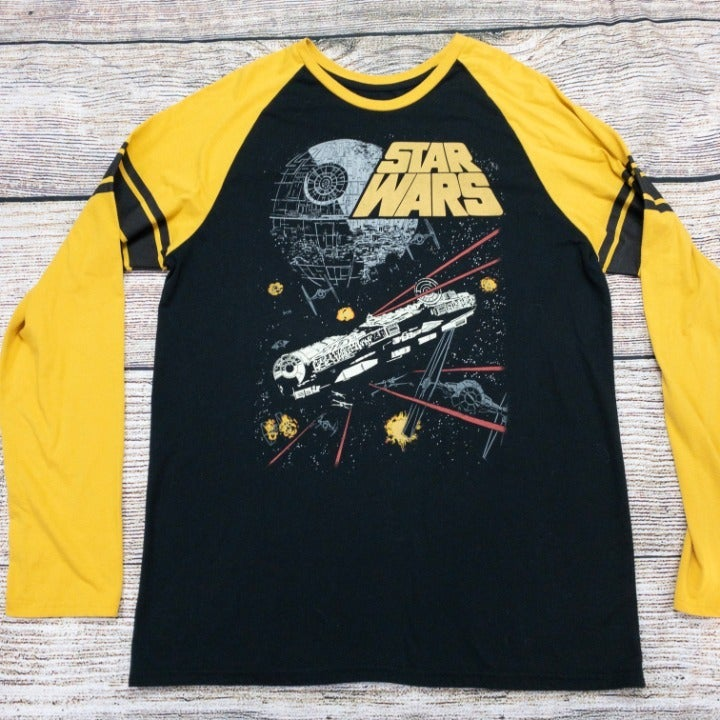 Star Wars Men's Long Sleeve T Shirt 2XL